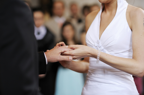 Wedding Ceremony Vows Exchange Rings