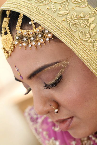 Indian wedding, Indian bride